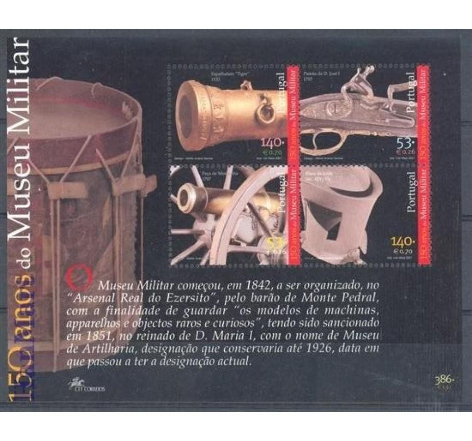 Portugalia 2001 Mi bl 171 Czyste **