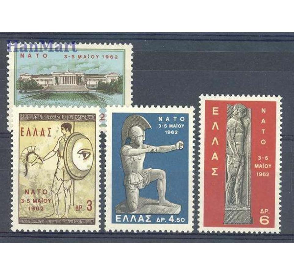 Grecja 1962 Mi 792-795 Czyste **