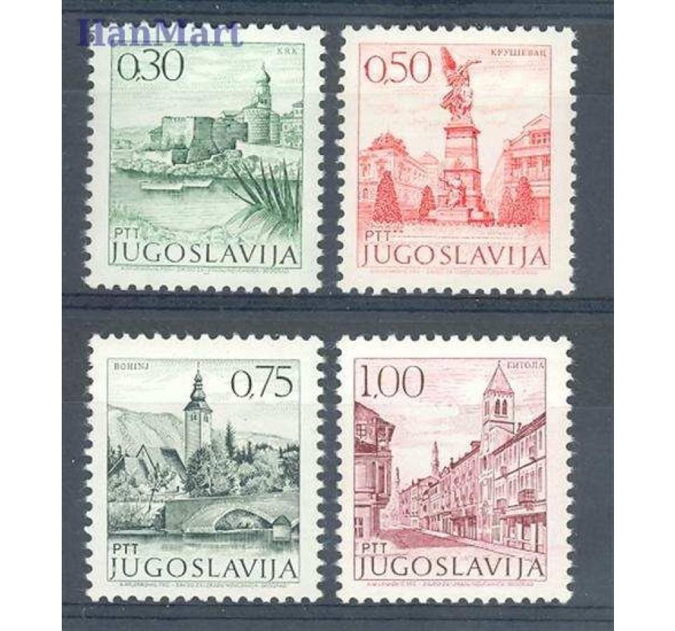 Jugosławia 1971 Mi 1427-1430x Czyste **
