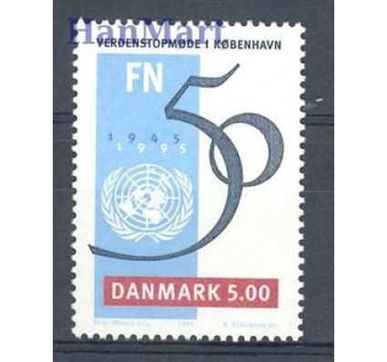 Znaczek Dania 1995 Mi 1095 Czyste **