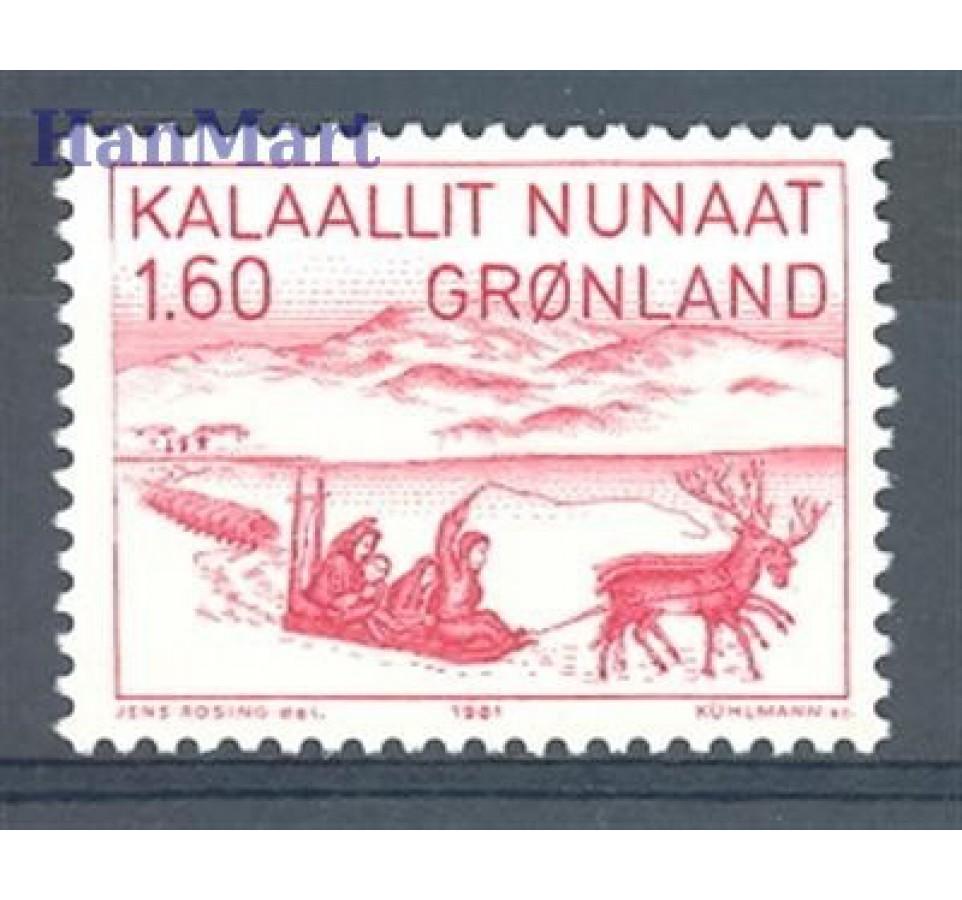 Grenlandia 1981 Mi 128 Czyste **