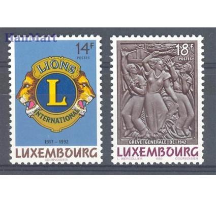 Luksemburg 1992 Mi 1295-1296 Czyste **