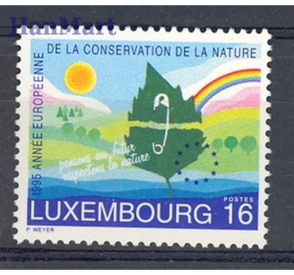 Luksemburg 1995 Mi 1373 Czyste **