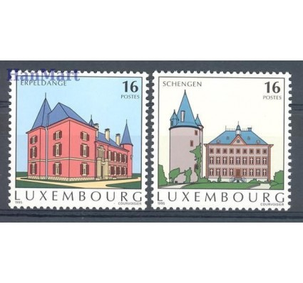 Luksemburg 1995 Mi 1375-1376 Czyste **