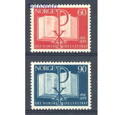 Norwegia 1966 Mi 541-542 Czyste **