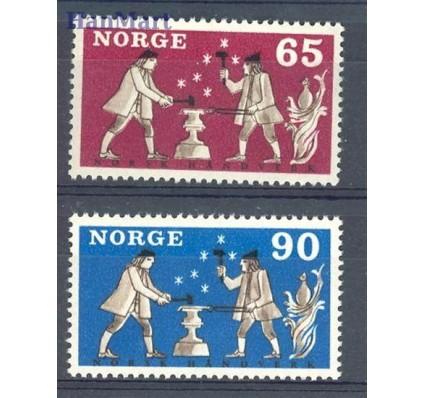 Norwegia 1968 Mi 564-565 Czyste **