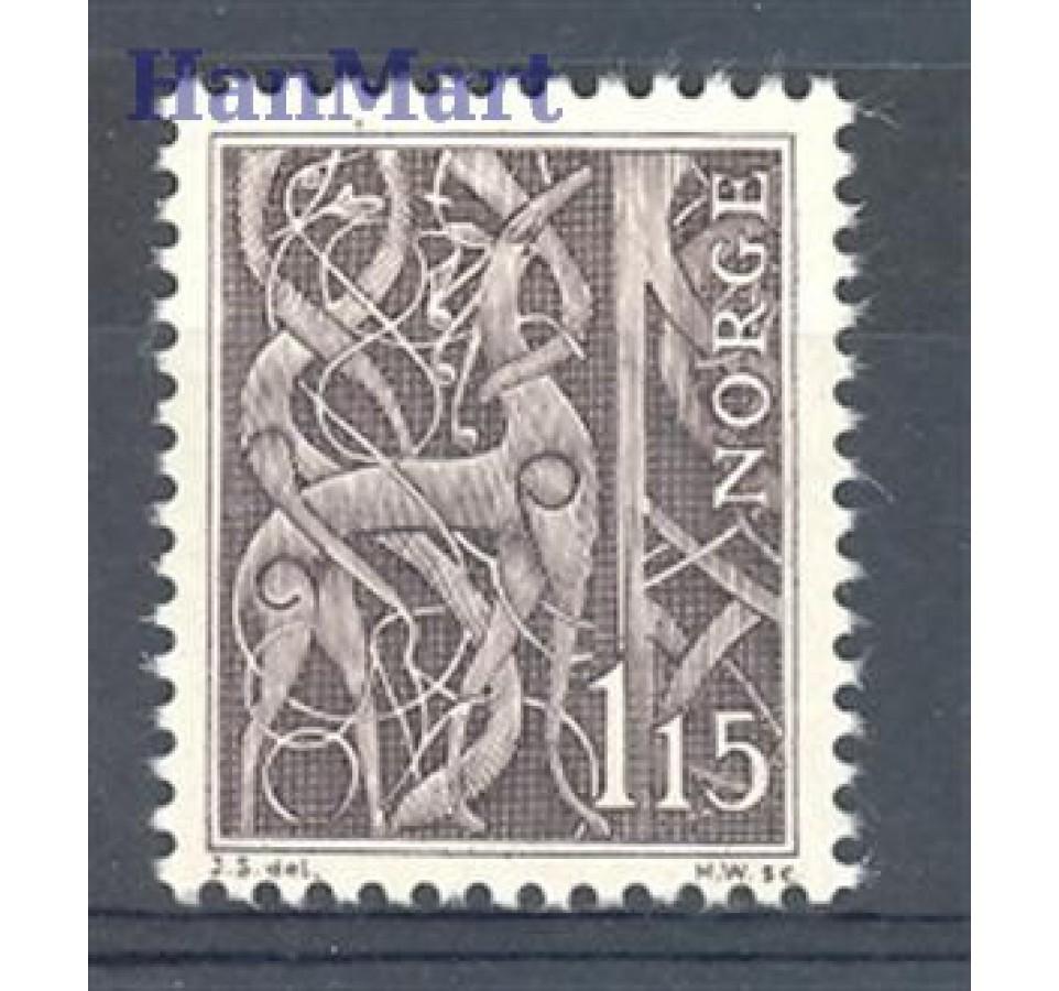 Norwegia 1969 Mi 578 Czyste **