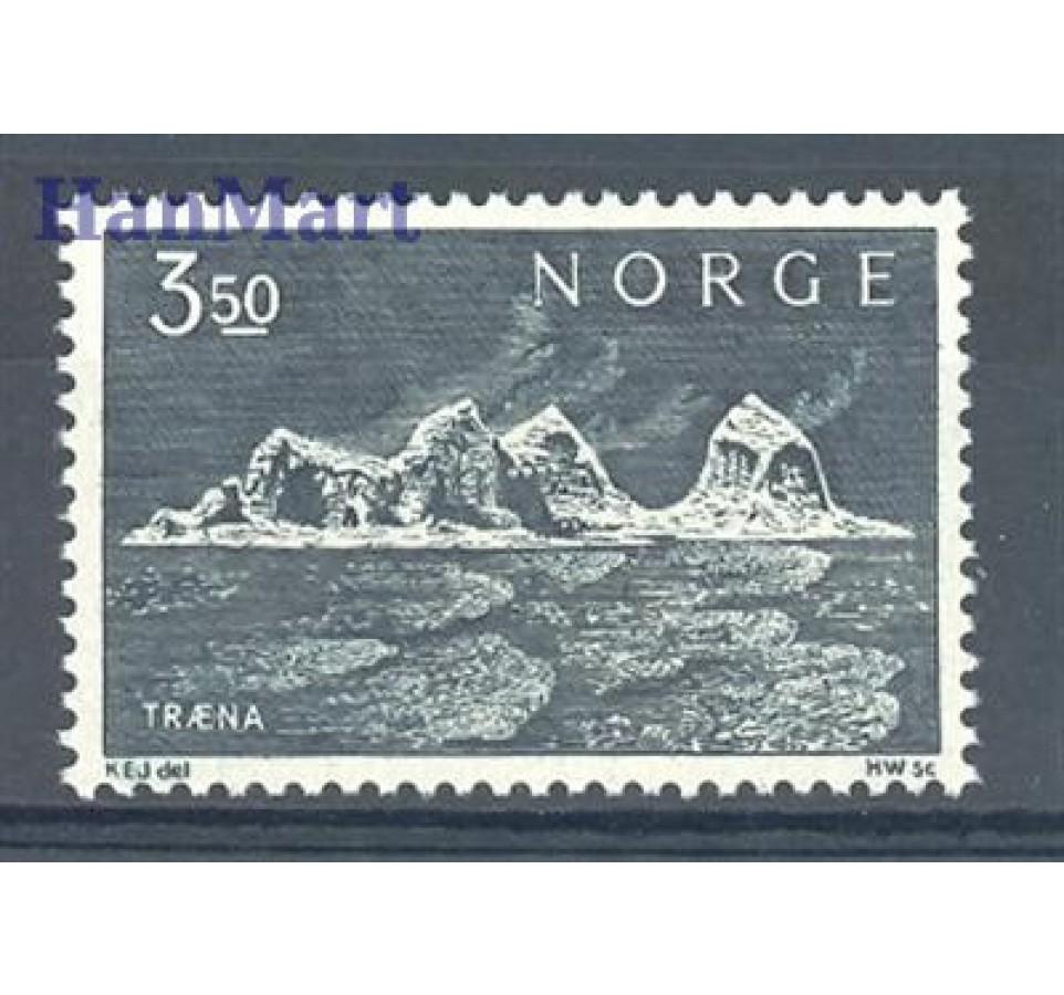 Norwegia 1969 Mi 587 Czyste **