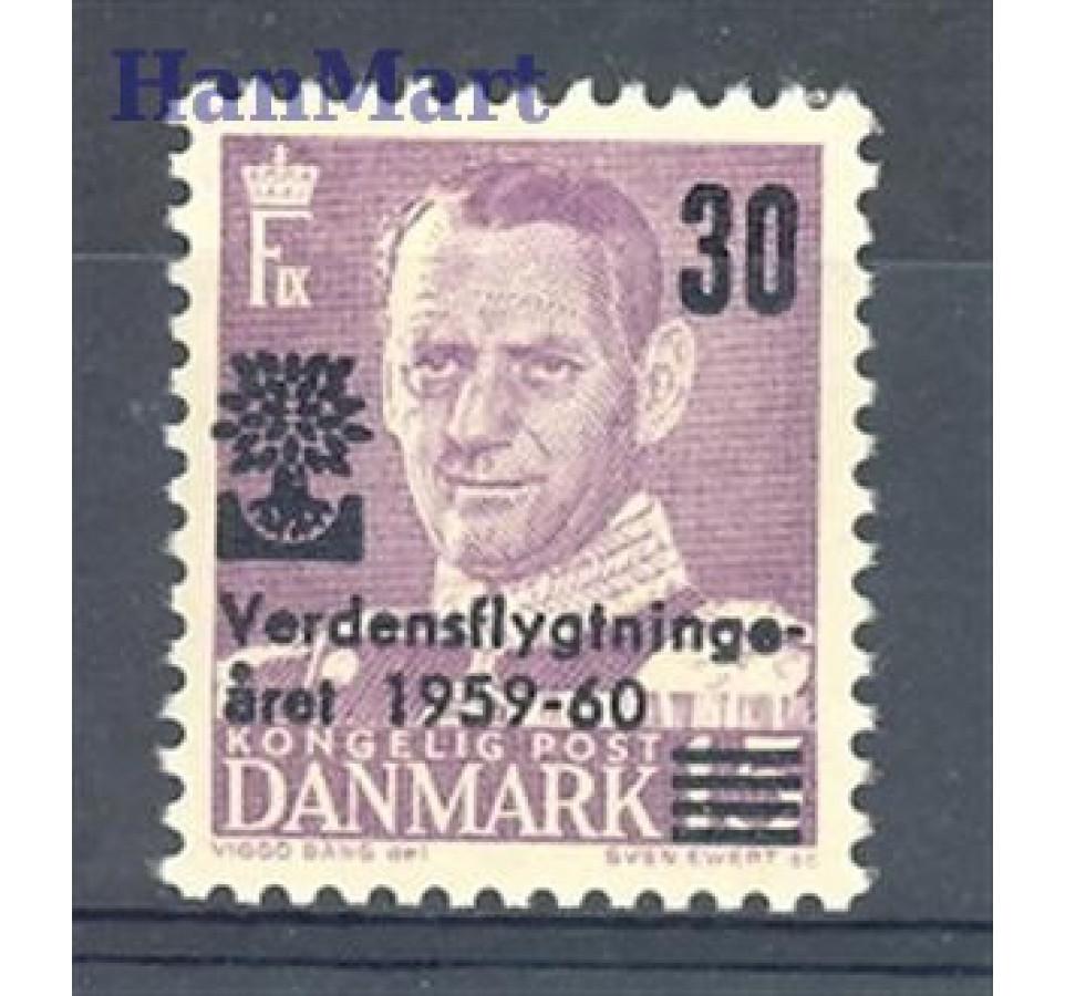 Dania 1960 Mi 377 Czyste **