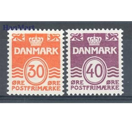 Znaczek Dania 1981 Mi 744-745 Czyste **