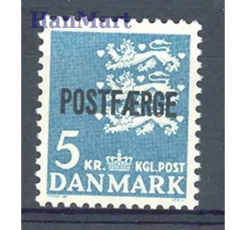 Dania 1972 Mi pos 44 Czyste **