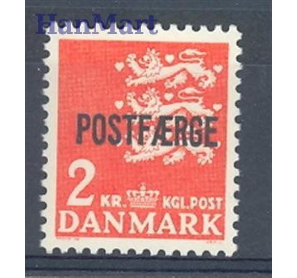 Dania 1972 Mi pos 45 Czyste **