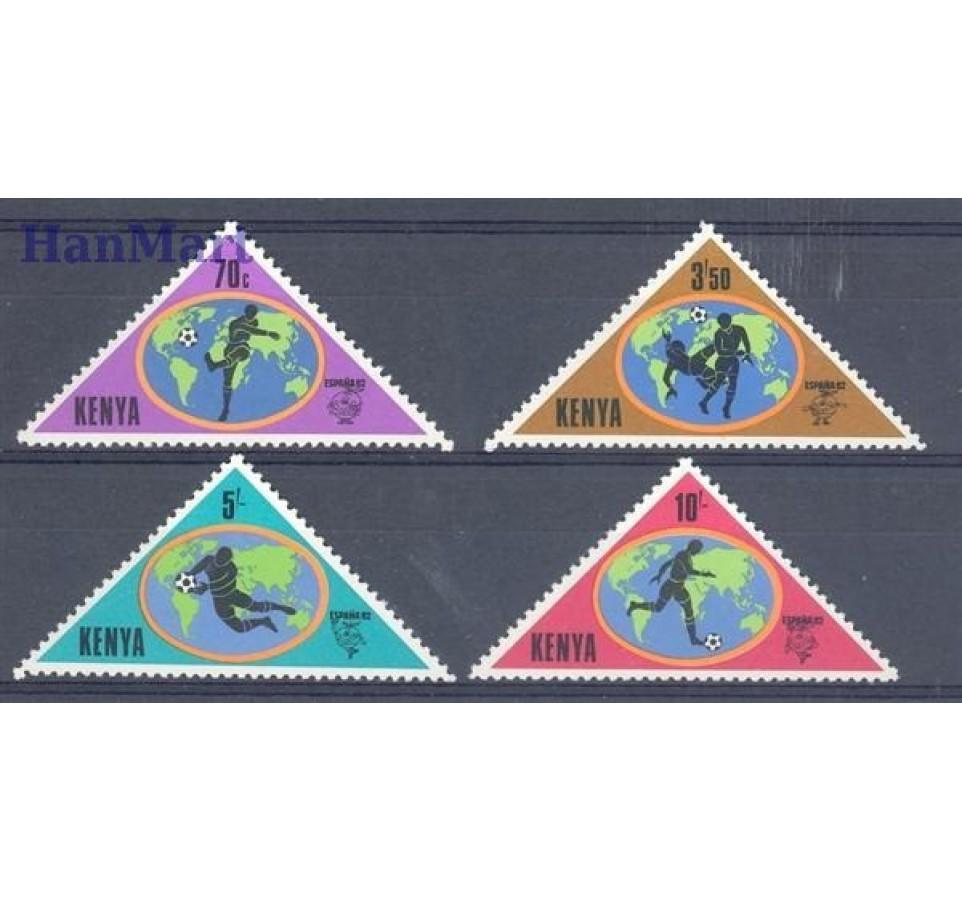Kenia 1982 Mi 222-225 Czyste **