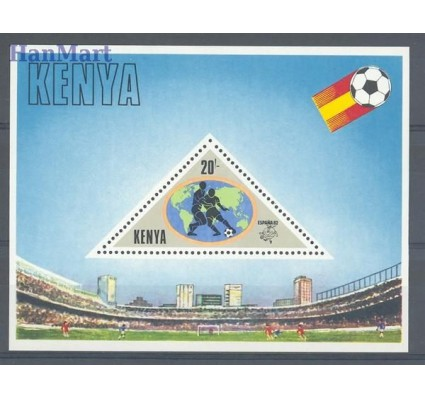Znaczek Kenia 1982 Mi bl 18 Czyste **