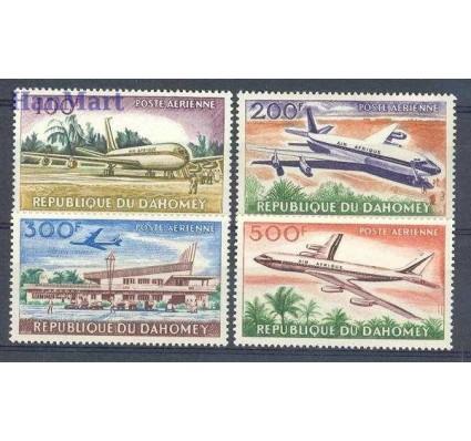 Dahomej 1963 Mi 222-225 Czyste **