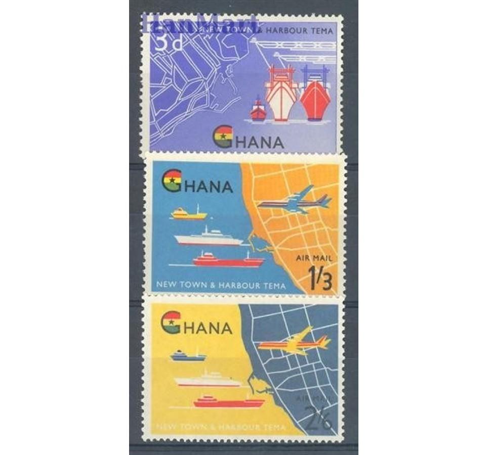 Ghana 1962 Mi 112-114 Czyste **