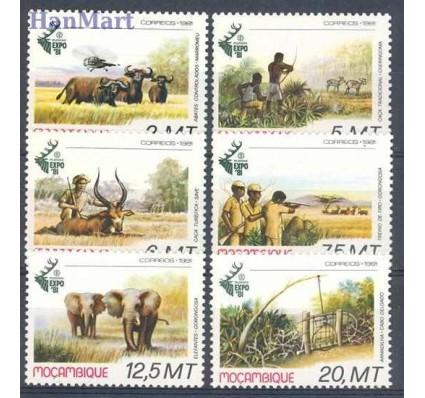 Mozambik 1981 Mi 816-821 Czyste **