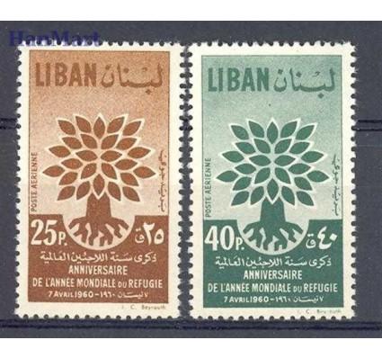 Liban 1960 Mi 670-671 Czyste **