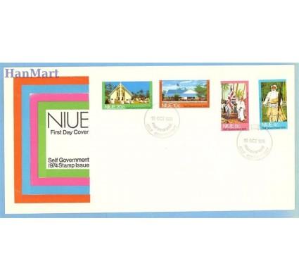 Znaczek Niue 1974 Mi 144-147 FDC