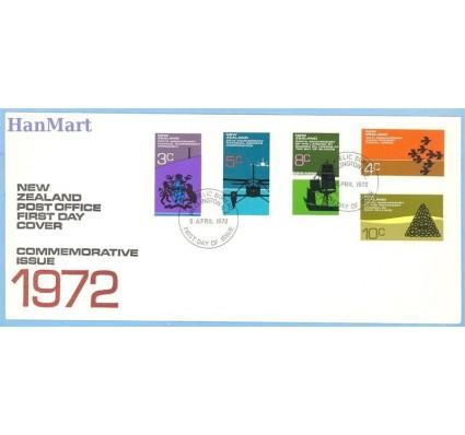 Znaczek Nowa Zelandia 1972 Mi 579-583 FDC