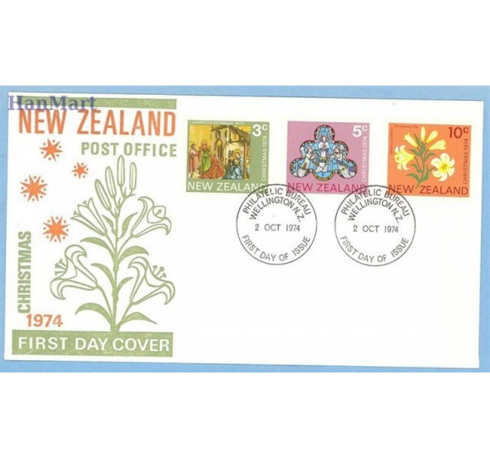 Nowa Zelandia 1974 FDC