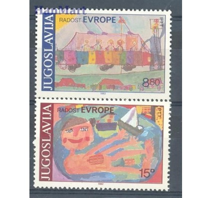 Jugosławia 1982 Mi 1945-1946 Czyste **