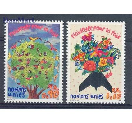 Narody Zjednoczone Genewa 1996 Mi 299-300 Czyste **