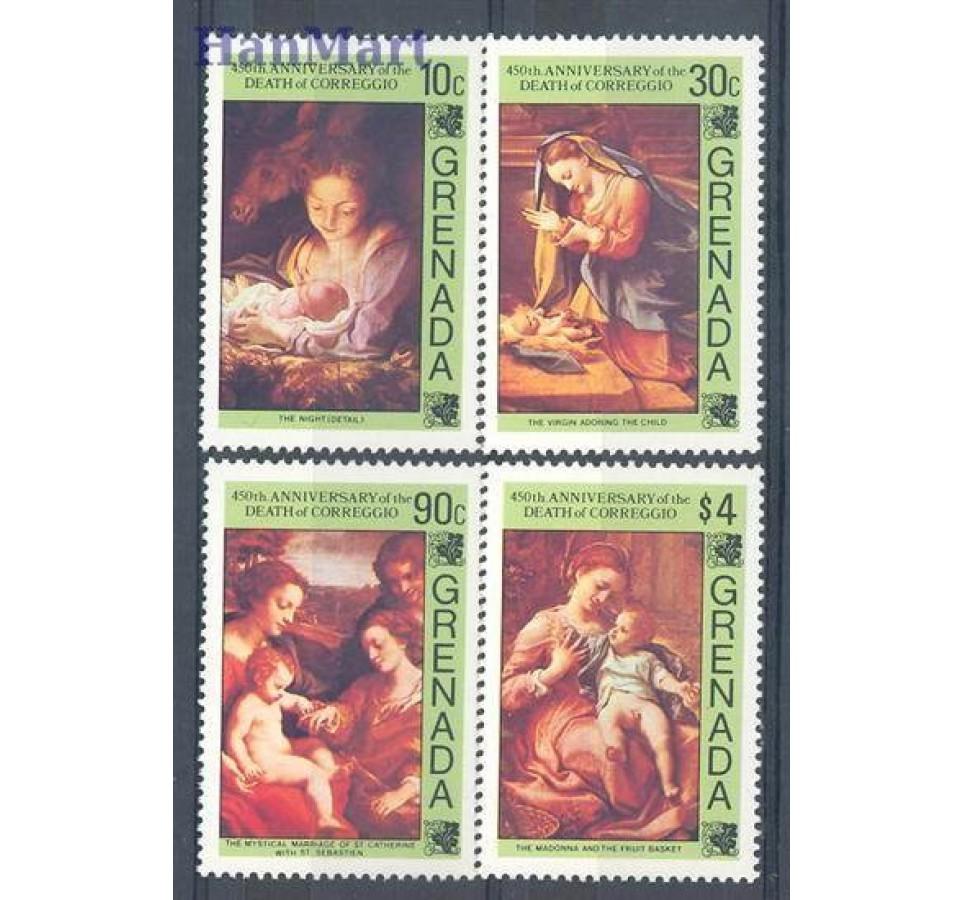 Grenada 1984 Mi 1312-1315 Czyste **