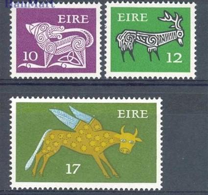 Irlandia 1977 Mi 358-360 Czyste **