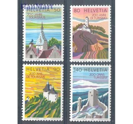 Szwajcaria 1987 Mi 1354-1357yb Czyste **