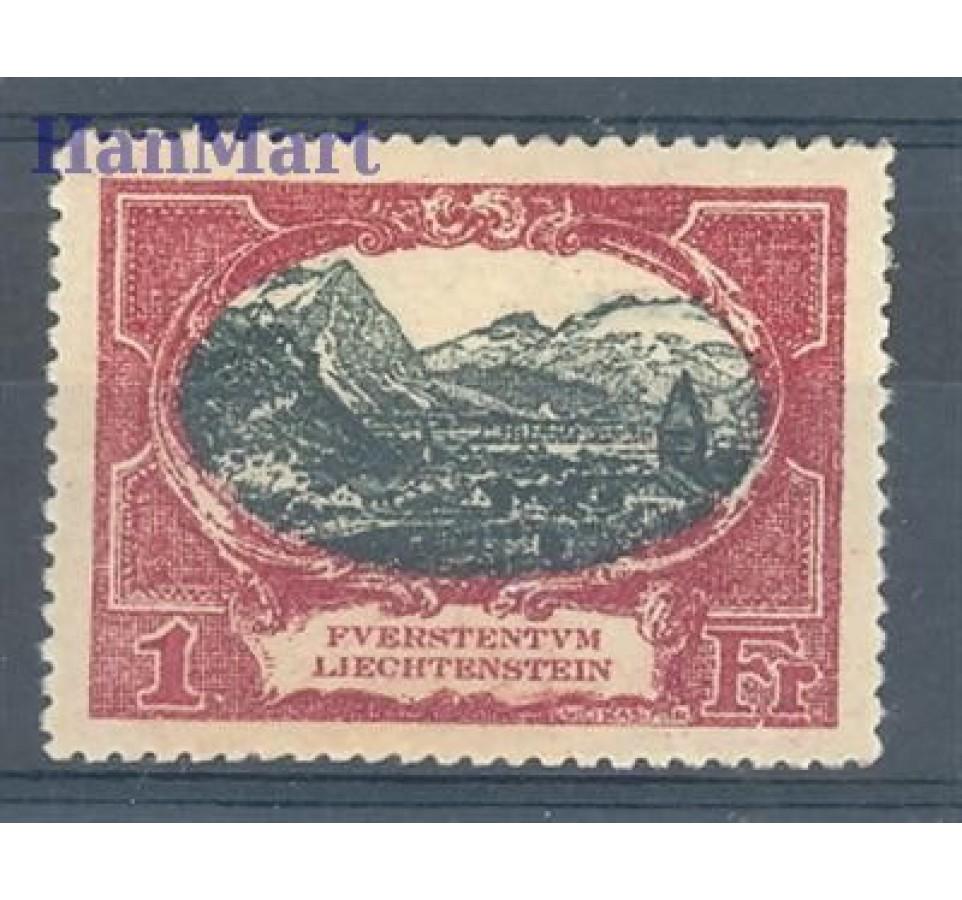 Liechtenstein 1921 Mi 60 Czyste **