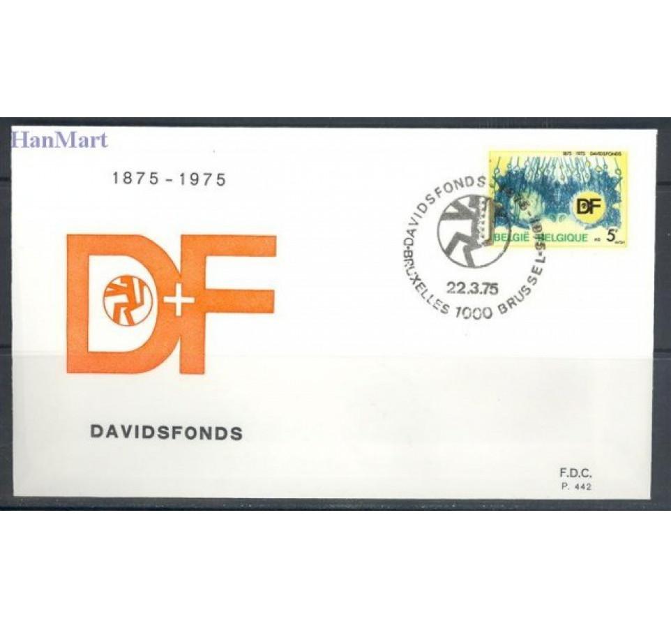 Belgia 1975 Mi 1809 FDC