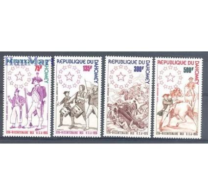 Znaczek Dahomej 1975 Mi 636-639 Czyste **