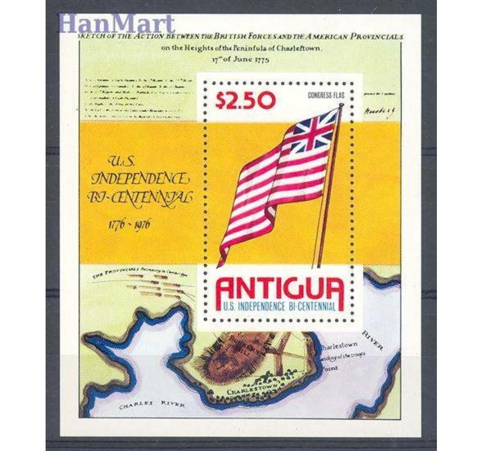 Antigua i Barbuda 1976 Mi bl 24 Czyste **