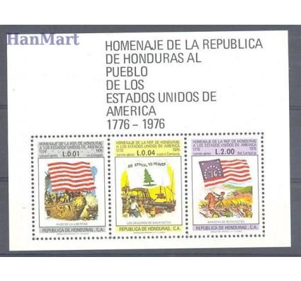 Znaczek Honduras 1976 Mi bl 26 Czyste **