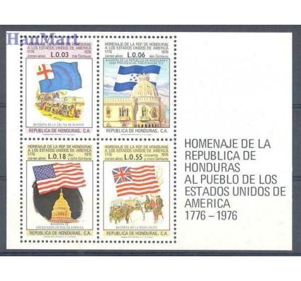Znaczek Honduras 1976 Mi bl 28 Czyste **
