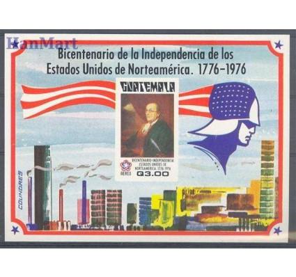 Znaczek Gwatemala 1976 Mi bl 22 Czyste **