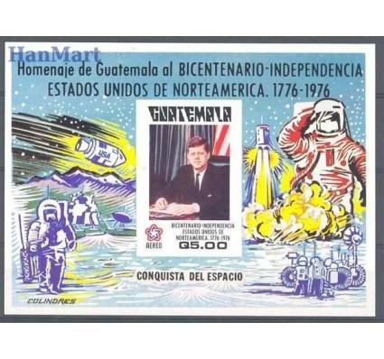 Znaczek Gwatemala 1976 Mi bl 23 Czyste **