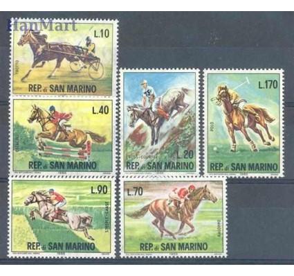 Znaczek San Marino 1966 Mi 850-855 Czyste **