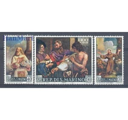 Znaczek San Marino 1967 Mi 887-889 Czyste **
