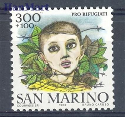 San Marino 1982 Mi 1270 Czyste **
