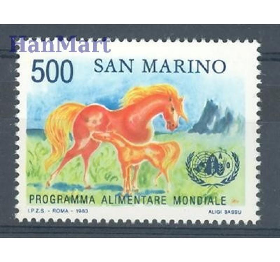 San Marino 1983 Mi 1287 Czyste **