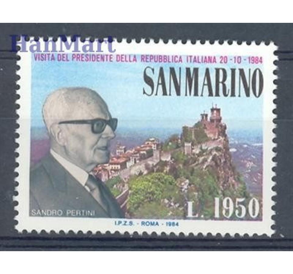 San Marino 1984 Mi 1303 Czyste **