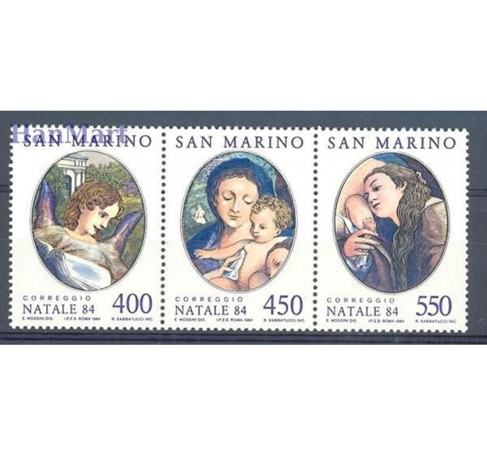 San Marino 1984 Mi 1310-1312 Czyste **