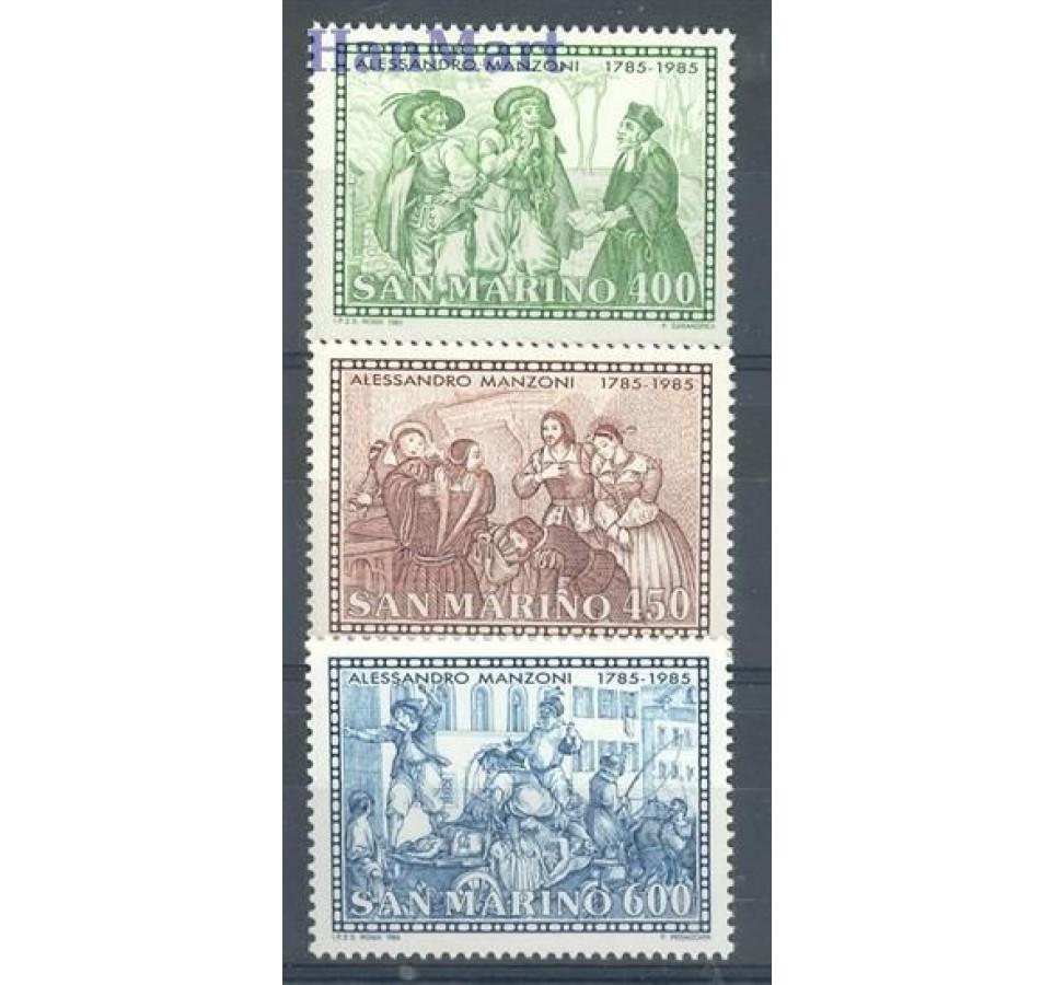 San Marino 1985 Mi 1325-1327 Czyste **