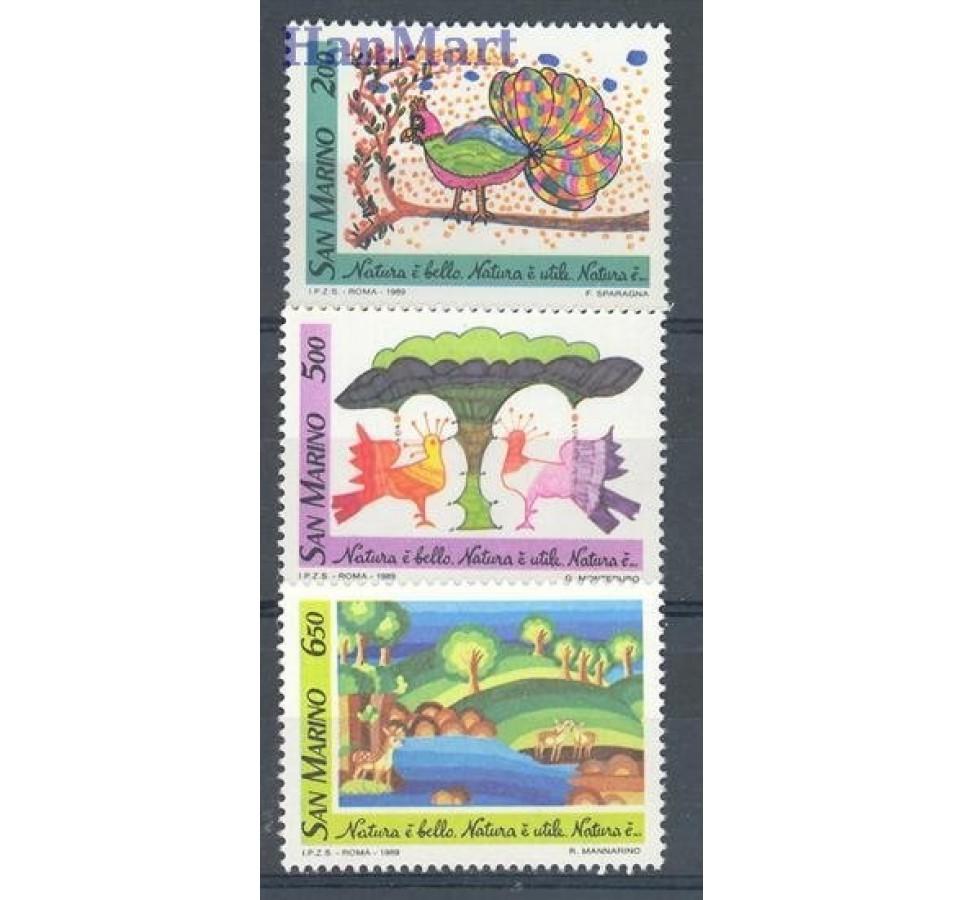 San Marino 1989 Mi 1409-1411 Czyste **