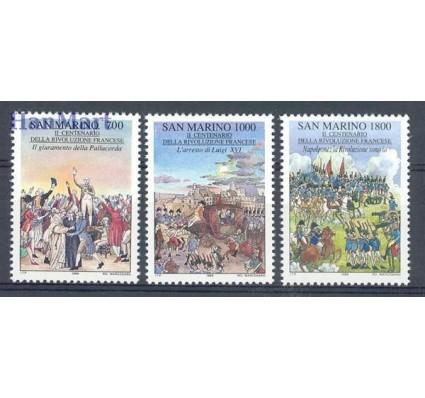 Znaczek San Marino 1989 Mi 1421-1423 Czyste **
