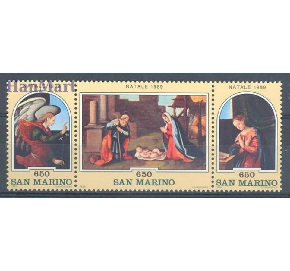 San Marino 1989 Mi 1427-1429 Czyste **