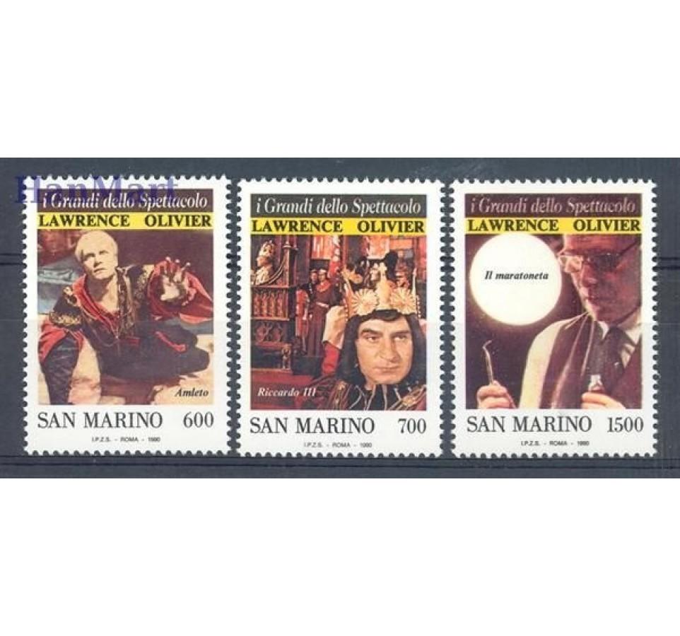 San Marino 1990 Mi 1444-1446 Czyste **