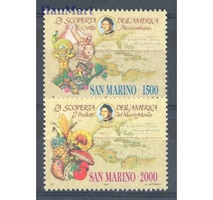 San Marino 1990 Mi 1456-1457 Czyste **